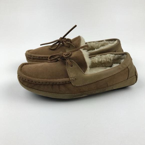 dc0eceb8e8c UGG Byron Slipper Chestnut Size 5102